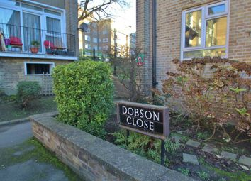 Thumbnail 2 bed flat for sale in Dobson Close, London