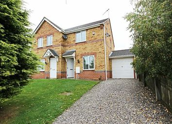 Thumbnail 2 bed semi-detached house to rent in Curbar Close, North Wingfield, Chesterfield
