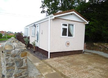 Thumbnail 1 bed mobile/park home to rent in Crossways Park, Howey, Llandrindod Wells