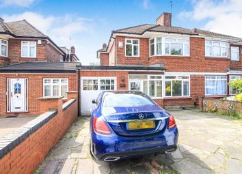 Thumbnail 4 bed semi-detached house to rent in Beverley Drive, Queensbury, Edgware