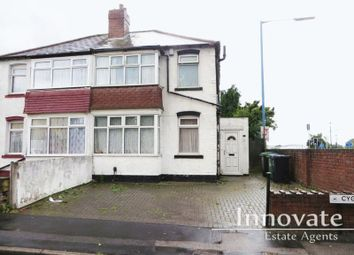 Thumbnail 2 bed semi-detached house for sale in Cygnet Road, West Bromwich