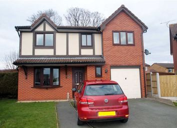 Thumbnail 4 bed detached house to rent in Croxon Rise, Oswestry, Shropshire