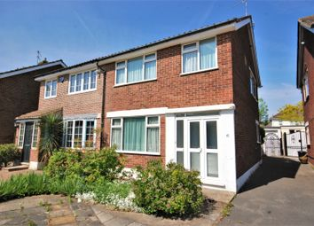 Thumbnail 3 bed semi-detached house for sale in Ashby Close, Hornchurch