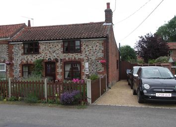 Thumbnail 2 bed cottage for sale in Hickling, Norwich, Norfolk