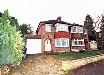 Thumbnail 3 bed semi-detached house to rent in Woodside Road, New Malden
