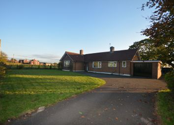 Thumbnail 3 bed bungalow to rent in Byley Lane, Cranage, Middlewich