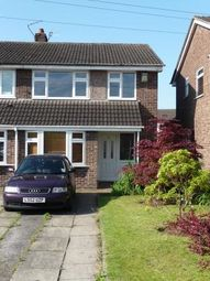 Thumbnail 3 bed semi-detached house to rent in Tottenham Drive, Baguley, Manchester, Lancashire