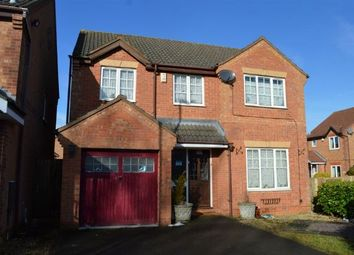 Thumbnail 4 bedroom detached house for sale in Farmhill Road, Southfields, Northampton