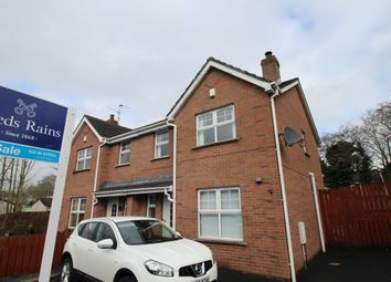 Thumbnail 3 bed semi-detached house for sale in Ballymacash Road, Lisburn