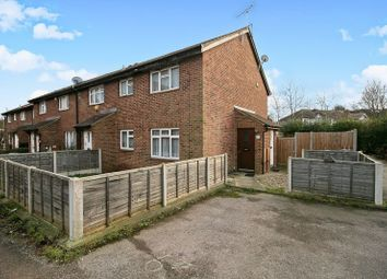Thumbnail 1 bed end terrace house for sale in Nicholas Close, Greenford