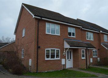 Thumbnail 4 bed end terrace house for sale in Kent Drive, Watlington, King's Lynn