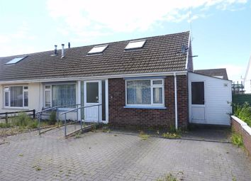 Thumbnail 2 bedroom semi-detached bungalow for sale in Maesglas, Cardigan, Ceredigion