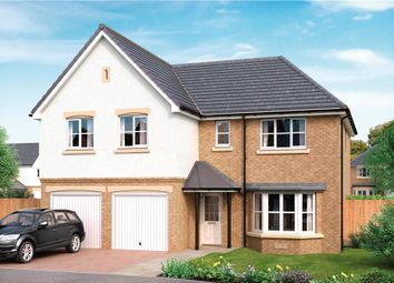 "Thumbnail 5 bed detached house for sale in ""Jura"" at Applegate Drive, East Kilbride, Glasgow"