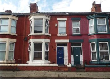 Thumbnail 3 bed terraced house for sale in Ennismore Road, Liverpool, Merseyside, England