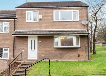 Thumbnail 3 bed end terrace house for sale in Leach Walk, Oldham, Greater Manchester