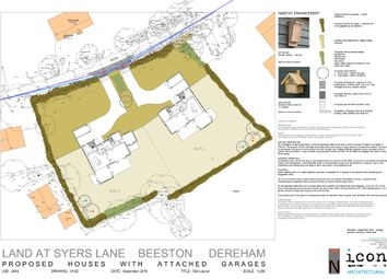 Thumbnail Land for sale in Syers Lane, Beeston, King's Lynn