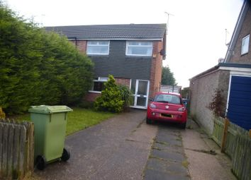 Thumbnail 3 bedroom semi-detached house to rent in Holmwood Road, Rainworth, Mansfield