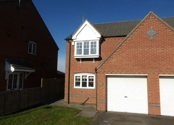 Thumbnail 3 bedroom detached house to rent in Grange View, Battram, Ellistown