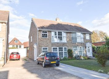 Churchill Close, Eastbourne BN20. 3 bed semi-detached house
