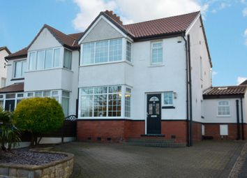 Thumbnail 3 bed semi-detached house for sale in Brownberrie Avenue, Horsforth, Leeds