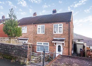 Thumbnail 3 bedroom semi-detached house for sale in Newlyn Road, Newbridge, Newport