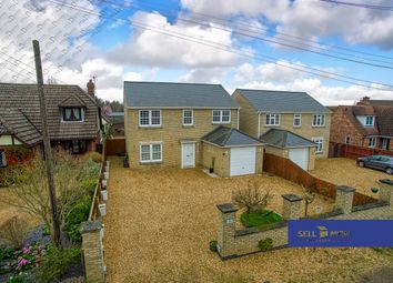 Thumbnail 4 bed detached house for sale in Eastwood End, Wimblington