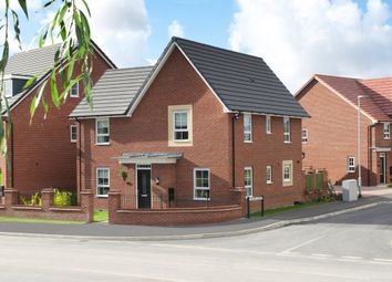 "Thumbnail 4 bedroom detached house for sale in ""Lincoln"" at Moss Lane, Macclesfield"