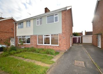 Thumbnail 3 bed semi-detached house to rent in Diamond Close, Ipswich