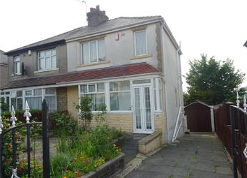 Thumbnail 3 bed semi-detached house to rent in Lodore Road, Bradford, West Yorkshire