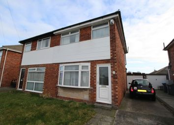 Thumbnail 3 bedroom semi-detached house to rent in Macauley Avenue, Blackpool