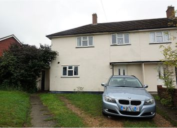 Thumbnail 3 bed semi-detached house for sale in Bramley Crescent, Sholing, Southampton