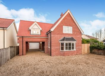 Thumbnail 4 bed detached house for sale in Stuston Road, Diss
