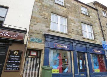 Thumbnail 1 bed flat for sale in White Hart Lane, Alnwick