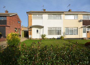 Thumbnail 3 bedroom semi-detached house for sale in Pinewood Avenue, Lowestoft