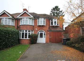 Thumbnail 4 bed semi-detached house to rent in Woodcote Way, Caversham Heights, Reading