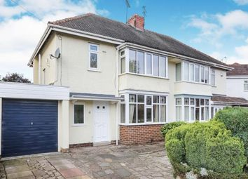 Thumbnail 3 bed semi-detached house for sale in Church Road, Bradmore, Wolverhampton, West Midlands