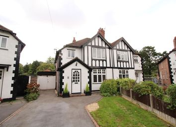 Thumbnail 3 bed semi-detached house for sale in The Crescent, Timperley, Altrincham