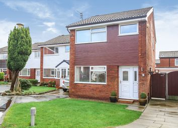 Thumbnail 3 bed detached house for sale in Ryland Close, Reddish, Stockport, Cheshire
