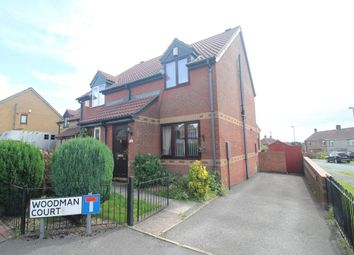 Thumbnail 2 bed semi-detached house to rent in Woodman Court, Bradford