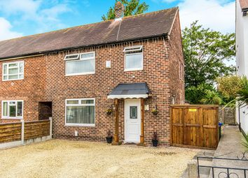Thumbnail 3 bedroom semi-detached house for sale in Firbank Road, Wythenshawe, Manchester