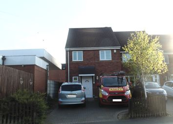 Thumbnail 3 bed town house for sale in Trehurst Avenue, Great Barr