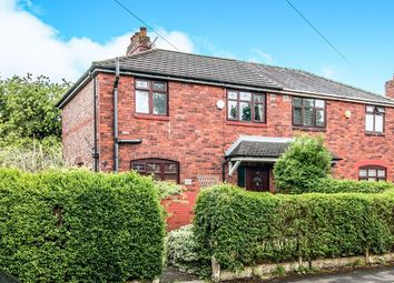 Thumbnail 3 bed semi-detached house for sale in Houghend Avenue, Chorlton, Manchester