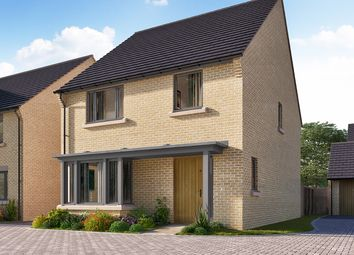 "Thumbnail 4 bed detached house for sale in ""The Downham"" at Heron Road, Northstowe, Cambridge"