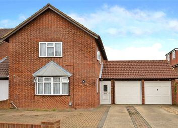 Thumbnail 3 bedroom link-detached house to rent in Alsom Avenue, Worcester Park