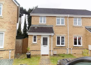 Thumbnail 3 bed semi-detached house for sale in Clos Joslin, Coity, Bridgend.