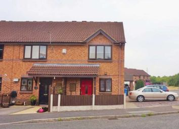 Thumbnail 2 bed semi-detached house to rent in Swallowdale Road, Sinfin, Derby