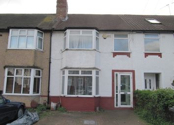 Thumbnail 3 bedroom terraced house to rent in Drew Gardens, Greenford