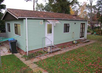 Thumbnail 2 bedroom mobile/park home for sale in Woodland Rise, Grange Estate, Church Crookham (Ref 5456), Fleet, Hampshire