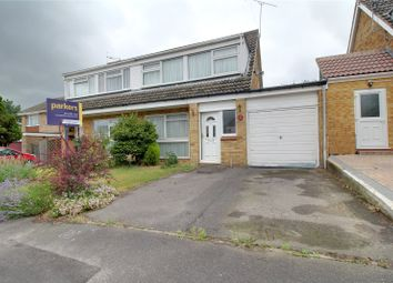 Thumbnail 3 bed semi-detached house for sale in Launcestone Close, Earley, Reading, Berkshire