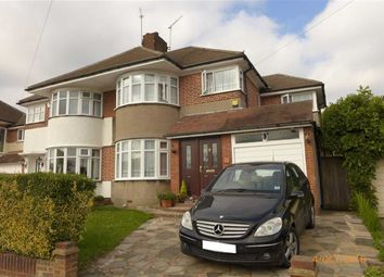 Thumbnail 4 bed semi-detached house for sale in Vernon Drive, Stanmore, Middlesex